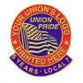 Union Lapel Pins, Union Made & Union Printed