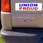 Bumper Stickers Union Stickers, Union Made & Union Printed