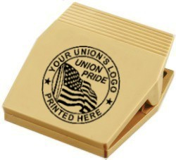 Union Magnetic Memo Clips, Union Made & Union Printed