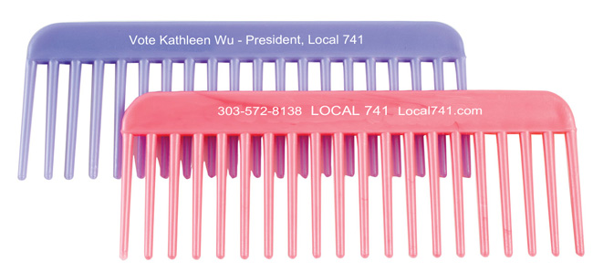 Union Printed Combs, Made in USA